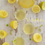lemonade with roasted fennel seeds, honey and fresh mint leaves – a taste of yellow and a tribute…